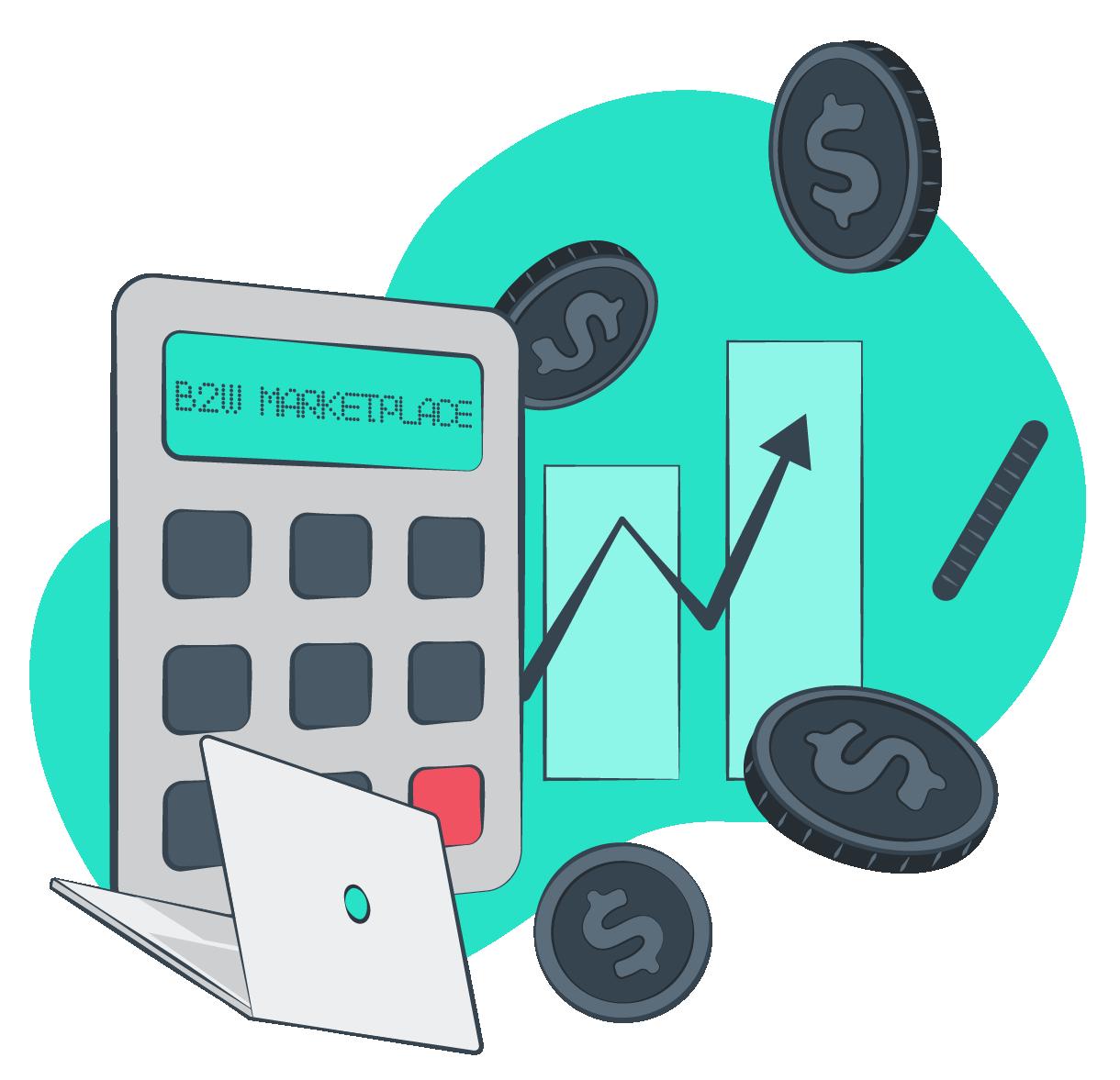 Calculadora de preços para vender no B2W Marketplace